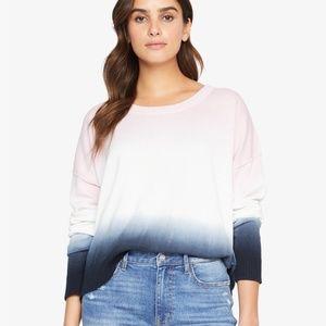 Sanctuary Sunsetter Tie Dye Sweater Black Pink AiR